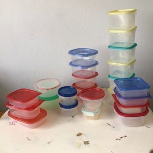 🌵Lot 24 pieces Not your mothers Tupperware